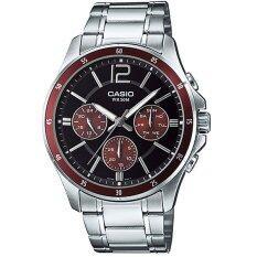 ราคา Casio นาฬิกา Gent Sport Mtp 1374D 5Avdf เป็นต้นฉบับ Casio