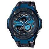 โปรโมชั่น Casio นาฬิกาข้อมือ G Shock สายเรซิ่น รุ่น Gst 200Cp 2A Casio G Shock ใหม่ล่าสุด