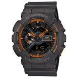 ส่วนลด สินค้า Casio นาฬิกาข้อมือ G Shock Standard Ana Digi Ga 110Ts 1A4 Black