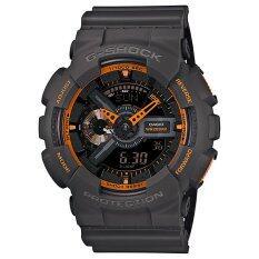 ส่วนลด Casio นาฬิกาข้อมือ G Shock Standard Ana Digi Ga 110Ts 1A4 Black Casio G Shock Thailand