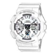 ขาย Casio นาฬิกาข้อมือ G Shock Standard Ana Digital รุ่น Ga 120A 7 White ผู้ค้าส่ง