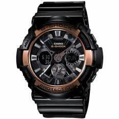 ราคา Casio นาฬิกาข้อมือ G Shock Standard Ana Digital รุ่น Ga 200Rg 1A Black ถูก