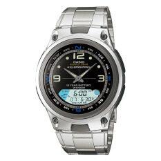 ซื้อ Casio นาฬิกาข้อมือ คาสิโอ Outgear รุ่น Aw 82D 1A Casio เป็นต้นฉบับ
