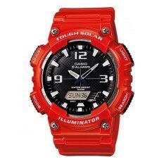 ซื้อ Casio นาฬิกาข้อมือผ้ชาย สายเรซิ่น รุ่น Aq S810Wc 4Av Casio เป็นต้นฉบับ
