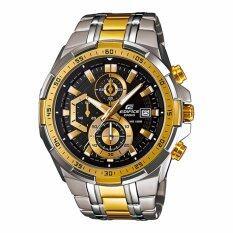 ซื้อ Casio นาฬิกาข้อมือผู้ชาย สายแสตนเลส Edifice Chronograph Black Gold รุ่น Efr 539Sg 1A ใน สงขลา
