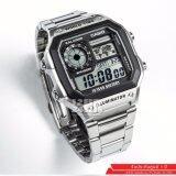 ขาย Casio นาฬิกาข้อมือผู้ชาย สายแสตนเลส รุ่น Ae 1200Whd 1Av สีเงิน ราคาถูกที่สุด