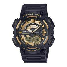 ขาย Casio นาฬิกาข้อมือผู้ชาย สายเรซิน รุ่น Aeq 110Bw 9Avdf ถูก ใน กรุงเทพมหานคร