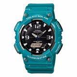 โปรโมชั่น Casio นาฬิกาข้อมือผู้ชาย สายเรซิ่น รุ่น Aq S810Wc 3Av Blue สงขลา
