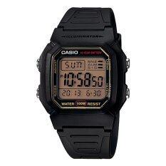 ส่วนลด Casio นาฬิกาข้อมือผู้ชาย สายเรซิ่น สีดำ รุ่น W 800Hg 9A Black Casio ใน ไทย