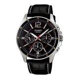 ราคา Casio นาฬิกาข้อมือ ผู้ชาย สายหนัง รุ่น Mtp 1374L 1A Casio เป็นต้นฉบับ