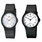 ส่วนลด สินค้า Casio นาฬิกาข้อมือผู้ชาย สีดำ สายเรซิ่น รุ่น Mq 24 7B และ Mq 24 7E2 แพ็คคู่