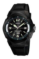ทบทวน Casio นาฬิกาข้อมือผู้ชาย สีดำ สายเรซิ่น รุ่น Mw 600F 1Avdf