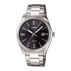 ราคา Casio นาฬิกาข้อมือผู้ชาย สีเงิน สายสเเตนเลส รุ่น Standard Gent Mtp 1302D 1A1Vdf เป็นต้นฉบับ