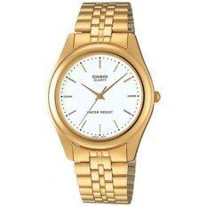 ราคา Casio นาฬิกาข้อมือผู้ชาย สีทอง สายสแตนเลส รุ่น Gent Quartz Mtp 1129N 7Ardf Casio ออนไลน์