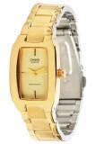 ราคา Casio นาฬิกาข้อมือผู้หญิง สายแสตนเลส รุ่น Ltp 1165N 9 สีทอง ถูก