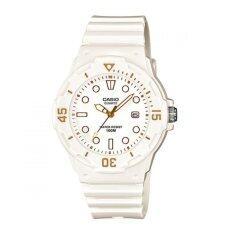 ขาย Casio นาฬิกาข้อมือผู้หญิง สายเรซิ่น รุ่น Lrw 200H 7E2 สีขาว เป็นต้นฉบับ
