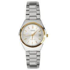 ซื้อ Casio นาฬิกาข้อมือผู้หญิง สายสแตนเลส สีเงิน รุ่น Ltp 1170G 7A Silver ถูก