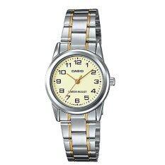 โปรโมชั่น Casio นาฬิกาข้อมือผู้หญิง สายสแตนเลส สีเงิน รุ่น Ltp V001Sg 9B Silver Casio ใหม่ล่าสุด