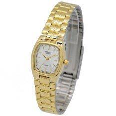 ซื้อ Casio นาฬิกาข้อมือผู้หญิง สายสแตนเลส สีทอง รุ่น Ltp 1169N 7A Gold ใน ไทย