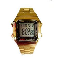 ส่วนลด Casio นาฬิกาข้อมือผู้หญิง สีทอง สายสแตนเลส รุ่น A178Wga 1Adf Data Bank Casio ใน กรุงเทพมหานคร