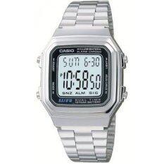 ส่วนลด Casio นาฬิกาข้อมือ รุ่น A178Wa 1A สีเงิน Casio ไทย