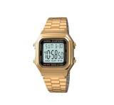 ราคา Casio นาฬิกาข้อมือ รุ่น A178Wga 1Audf Gold ใหม่ล่าสุด