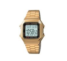 ขาย Casio นาฬิกาข้อมือ รุ่น A178Wga 1Audf Gold เป็นต้นฉบับ