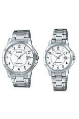 ขาย Casio นาฬิกาข้อมือ สายสแตนเลส Valentine Lover Set 6 ผู้ค้าส่ง