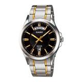 ราคา Casio นาฬิกาข้อมือ Standard Men สายสแตนเลส 2 กษัตริย์ รุ่น Mtp 1381G 1A เป็นต้นฉบับ