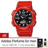 ราคา Casio นาฬิกาข้อมือ Standard Solar Power Aq S810Wc 4Av Red Free Adidas Perfume For Men 100Ml 1 ขวด Casio ใหม่
