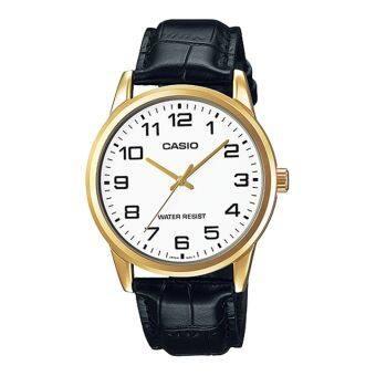 CASIO นาฬิกาผู้ชาย สายหนัง รุ่น   MTP-V001GL-7B-