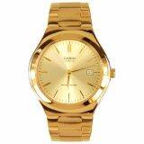 Casio นาฬิกาผู้ชาย สายสแตนเลส รุ่น Mtp 1170N 9A Gold สินค้าขายดี มั่นใจของแท้ ประกันศูนย์ 1 ปี Casio ถูก ใน กรุงเทพมหานคร