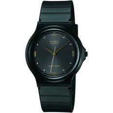 ราคา Casio นาฬิกาผู้หญิง สายเรซิ่น รุ่น Mq 76 1A สีดำ ใหม่