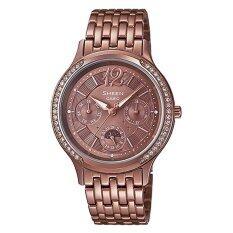 ราคา Casio นาฬิกาผู้หญิง สายสแตนเลส รุ่น She 3030Br 5 ใหม่ล่าสุด