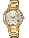 ซื้อ Casio นาฬิกาผู้หญิง สายสแตนเลส รุ่น She 4804Gd 9 ใหม่ล่าสุด