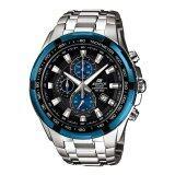 ขาย Casio นาฬิกาสำหรับผู้ชาย Ef 539D 1A2 สายสแตนเลสสีเงิน ถูก ใน สงขลา