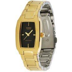 โปรโมชั่น Casio นาฬิกาสำหรับผู้หญิง Ltp 1165N 1C สายสแตนเลสสีทอง สงขลา