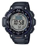 ราคา Casio Outgear นาฬิกาข้อมือชาย สีดำ สายเรซิ่น Sgw 1000 1A