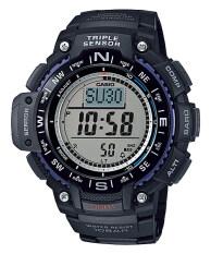 โปรโมชั่น Casio Outgear นาฬิกาข้อมือชาย สีดำ สายเรซิ่น Sgw 1000 1A Thailand