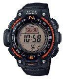 ส่วนลด Casio Outgear นาฬิกาข้อมือชาย สีดำ สายเรซิ่น Sgw 1000B 4A