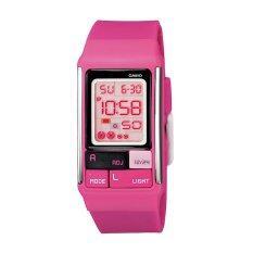 ราคา Casio นาฬิกาข้อมือ Poptone รุ่น Ldf 52 4Adr Pink Black Casio ใหม่