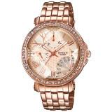 ขาย Casio Sheen นาฬิกาข้อมือผู้หญิง สายสแตนเลส รุ่น Shn 3011Pg 9A สีทองชมพู ถูก พะเยา