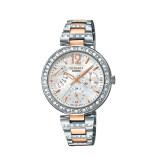 ขาย Casio Sheen นาฬิกาข้อมือสตรี สายสแตนเลส รุ่น She 3043Sg 7Audr Silver Pink Gold ถูก ใน พะเยา