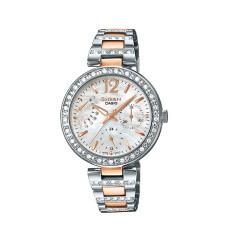 ซื้อ Casio Sheen นาฬิกาข้อมือสตรี สายสแตนเลส รุ่น She 3043Sg 7Audr Silver Pink Gold ถูก พะเยา