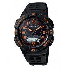 ขาย Casio นาฬิกา Solar Power Sport สายเรซิ่น รุ่น Aq S800W 1B2Vdf Black ผู้ค้าส่ง