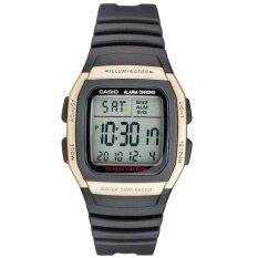 ราคา Casio นาฬิกาผู้ชาย สีดำ สายยาง Sport Digital รุ่น W 96H 9Avdf ออนไลน์