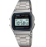 ซื้อ Casio Standard นาฬิกาข้อมือผู้ชาย สีเงิน สายสเตนเลส รุ่น A158Wa 1Df Casio