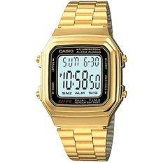 ซื้อ Casio Standard นาฬิกาข้อมือ รุ่น A178Wga 1A Gold ใน สงขลา