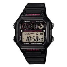 ราคา Casio Standard นาฬิกาข้อมือผู้ชาย สีดำ สายเรซิ่น รุ่นNae 1300Wh 1A2Vdf ใน ไทย