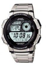 Casio Standard นาฬิกาข้อมือ สายสแตนเลส รุ่น Ae1000Wd 1A Silver ถูก